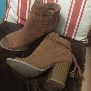 Booties Size 8